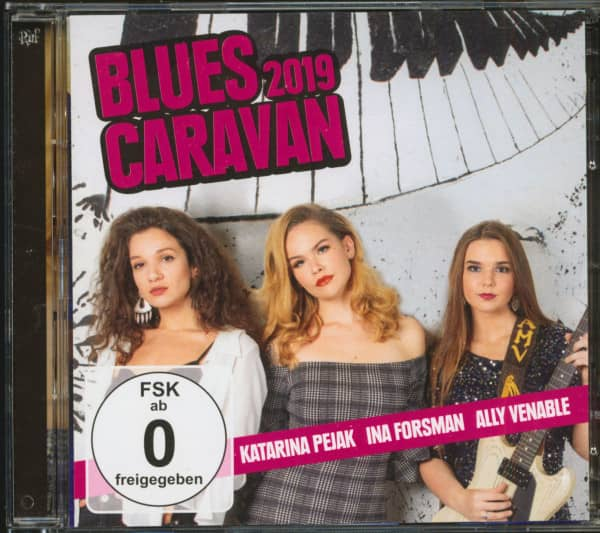 Blues Caravan 2019 (CD & DVD)