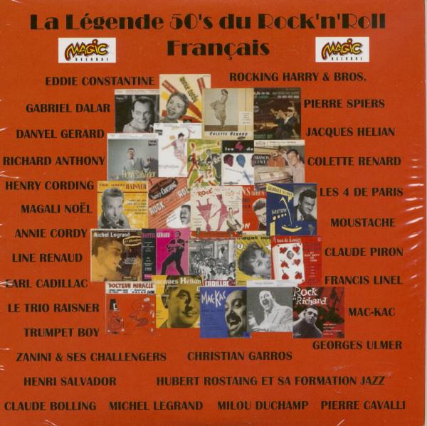 La Legende du Rock'n'Roll 50's Francais