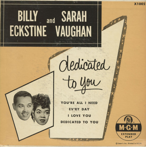 Dedicated To You (7inch, 45rpm, EP, PS)