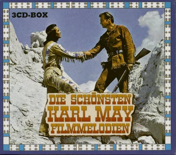 Die Schönsten Karl May Filmmelodien (3-CD)