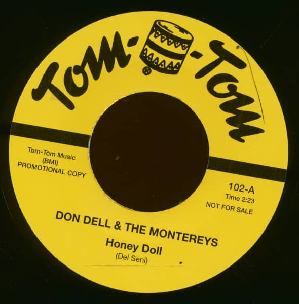 Honey Doll - Baby I Don't Care (7inch, 45rpm)