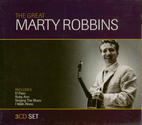 The Great Marty Robbins (3-CD)