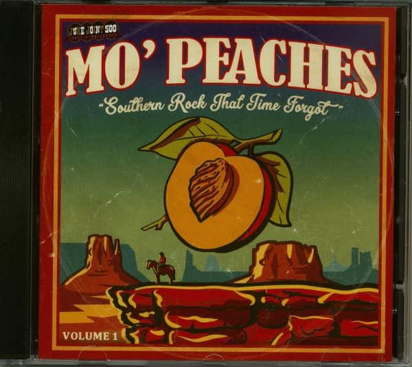 Mo' Peaches Vol.1 - Southern Rock That Time Forgot (CD)