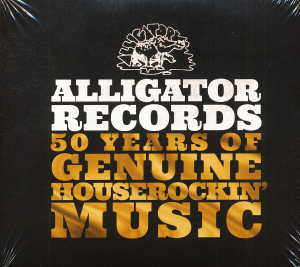 Alligator Records - 50 Years Of Genuine Houserockin' Music (3-CD)