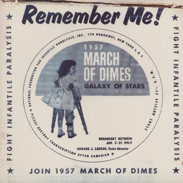 Remember Me! 1957 March Of Dimes - Galaxy Of Stars (Mini LP - Repro)