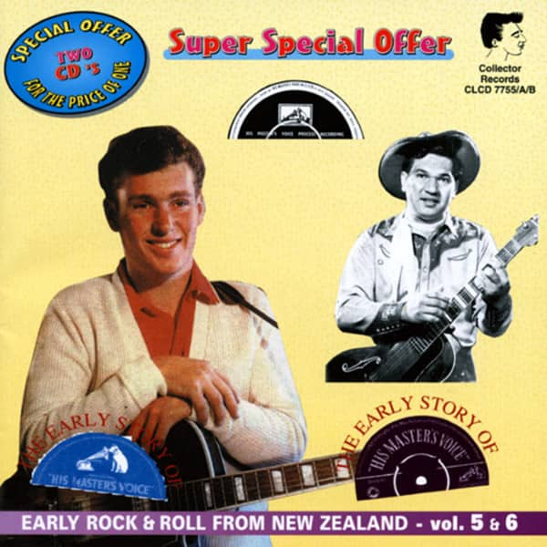 Vol.5&6, Early Rock & Roll From New Zealand 2