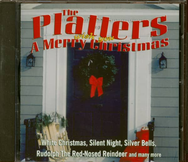 The Platters Wish You A Merry Christmas (CD)