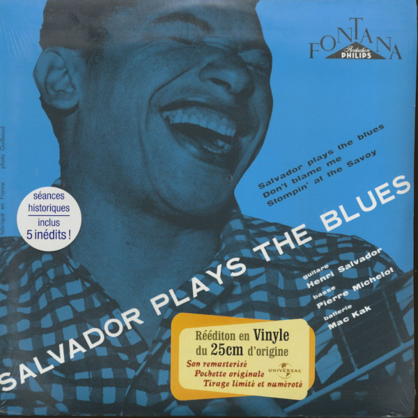 Salvador Plays The Blues (10inch LP, Limited Edition)