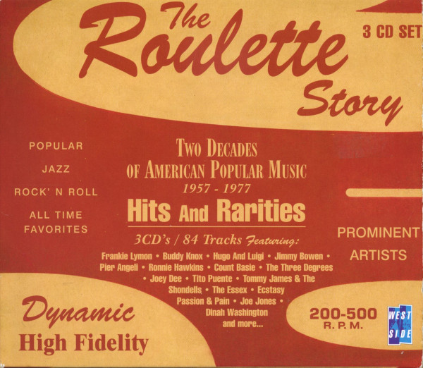 The Roulette Story (3-CD)