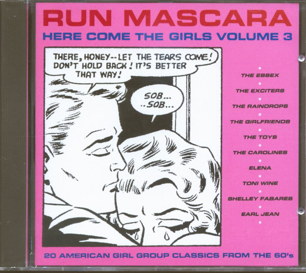 Run Mascara - Here Come The Girls Vol.3 (CD)