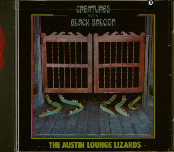 Creatures From The Black Saloon (CD)