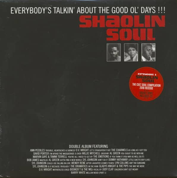 Various Shaolin Soul - Episode 1 (2-LP+CD)