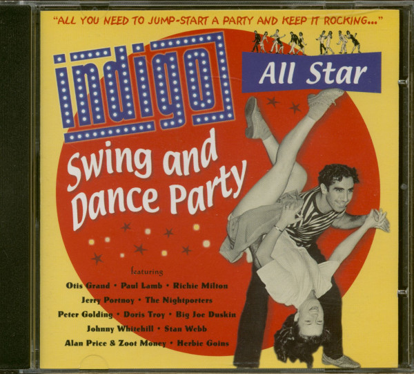 Indigo All Star Swing And Dance Party (CD)