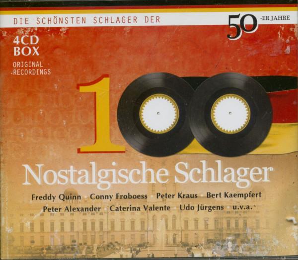 100 Nostalgische Schlager (4-CD)