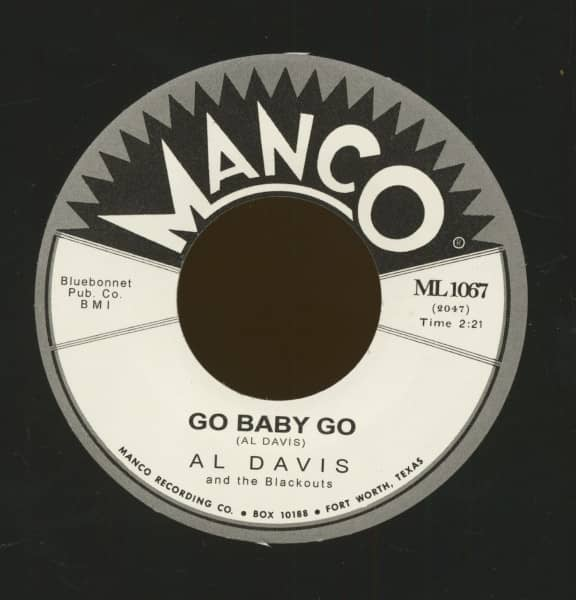 Go Baby Go - Ricky Tic (7inch, 45rpm)