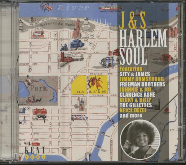 J &S Harlem Soul (CD)