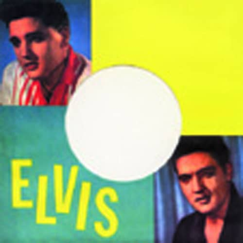 (10) Elvis - 45rpm record sleeve - 7inch Single Cover