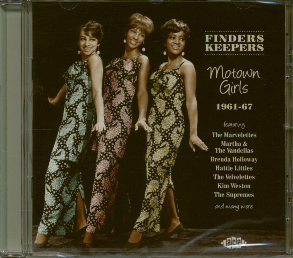 Finders Keepers - Motown Girls 1961-67 (CD)