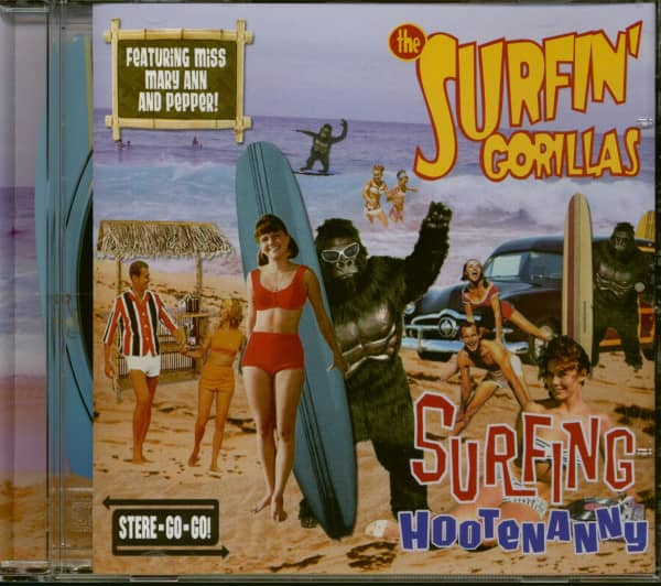 Surfing Hootenanny (CD)