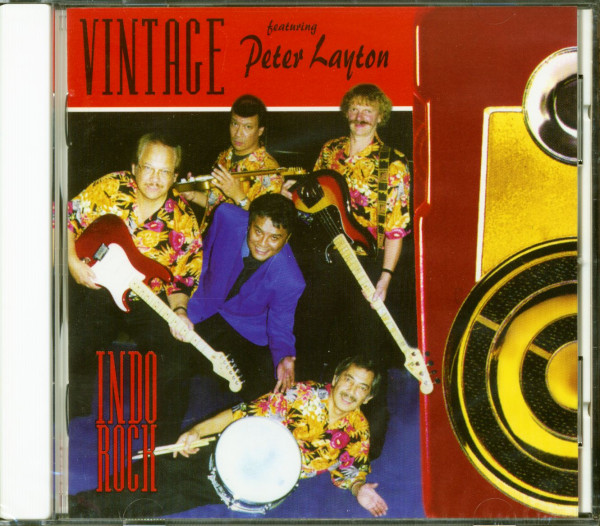 Vintage Indo Rock - Featuring Peter Layton (CD)