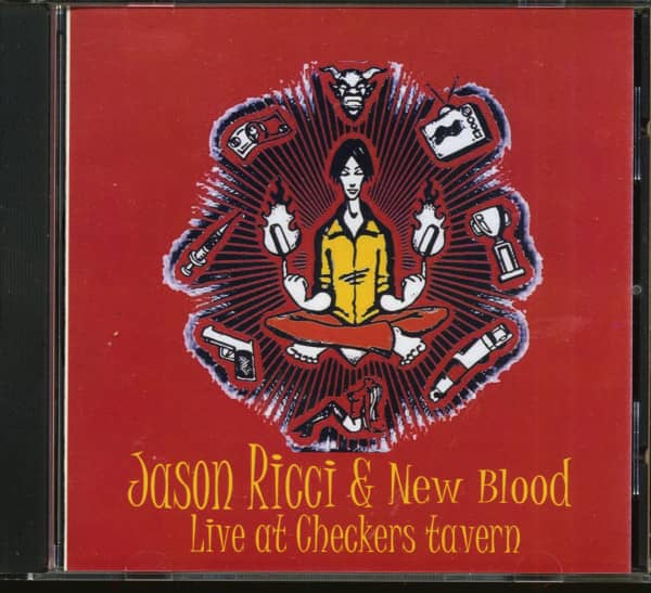 Live At Checkers Tavern (CD)