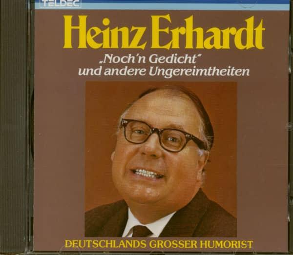 Heinz Erhardt Nochn Gedicht Und Andere Ungereimtheiten Cd