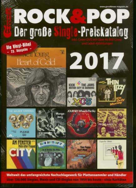 2017 Rock & Pop (inkl. DVD)