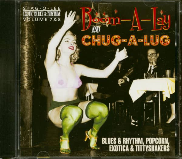 Boom-A-Lay And Chug-A-Lug - Exotic Blues & Rhythm Vol.7 & 8 (CD)