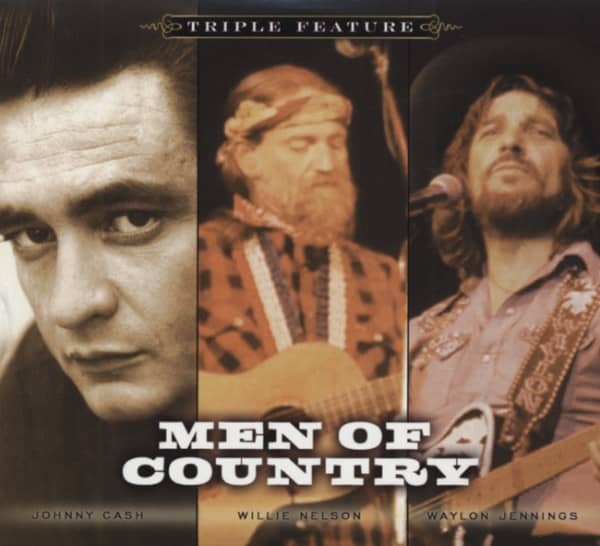 Men Of Country Triple Feature (3-CD Softpack)