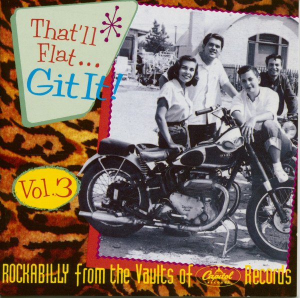 Vol.3 - Rockabilly From The Vaults Of Capitol Records (CD)