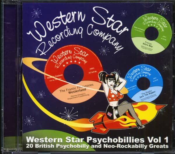 Western Star Psychobillies Vol.1 (CD)