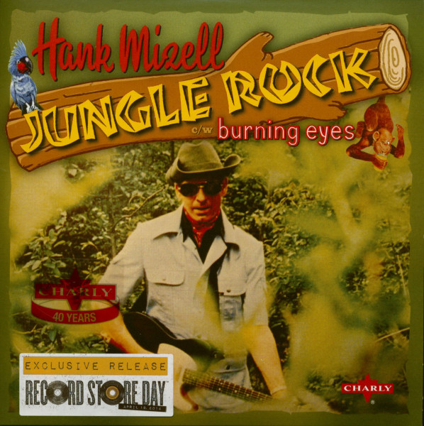 Jungle Rock - Burning Eyes (7inch, 45rpm, PS, SC, Ltd.)