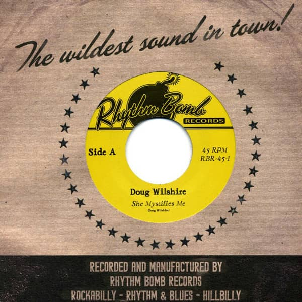 She Mystifies Me - Thought A Little Bit.. 7inch, 45rpm