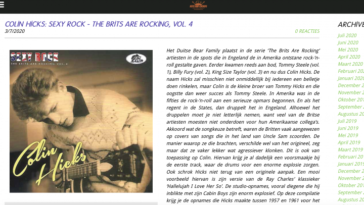 Presse-Archiv-Colin-Hicks-Sexy-Rock-The-Brits-Are-Rocking-Vol-4-keys-and-chords
