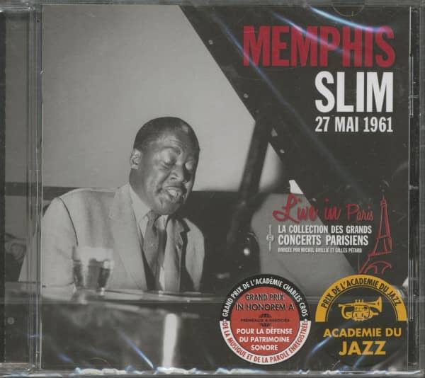 Live In Paris, May 27, 1961 (CD)