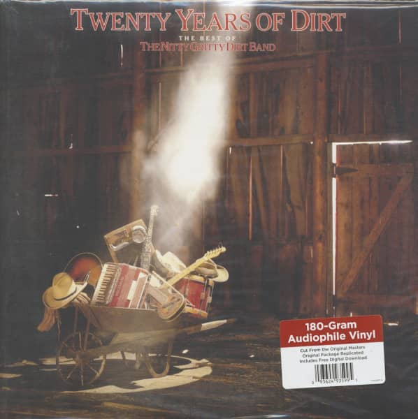 Twenty Years Of Dirt - The Best Of The Nitty Gritty Dirt Band (LP, 180g Vinyl)