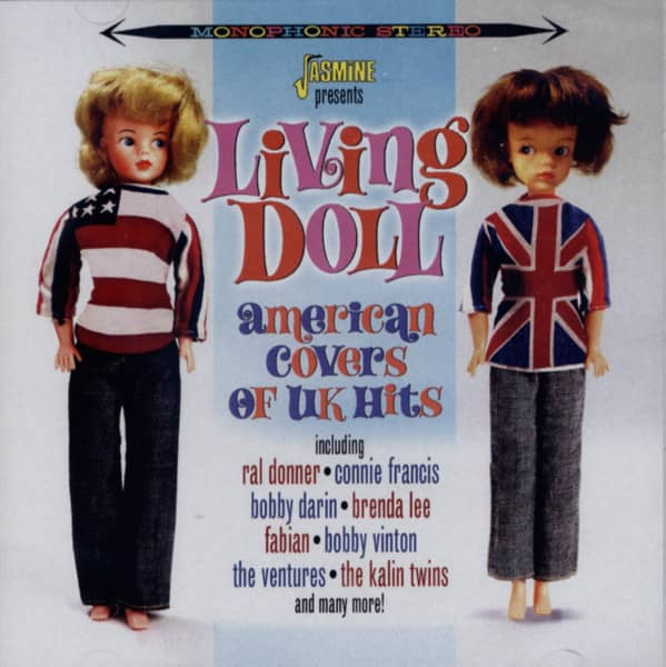 Living Doll - American Covers Of UK Hits (2-CD)