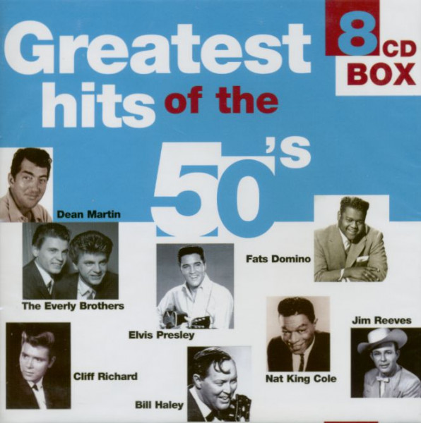 Greatest Hits Of The 50s (8-CD)