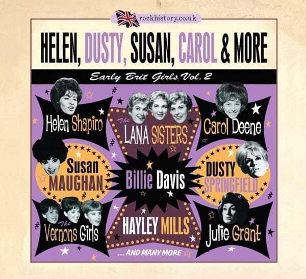 Early Brit Girls Vol.2 - Helen, Dusty Susan, Carol & More (2-CD)