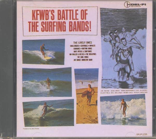 KFWB's Battle Of The Surfing Bands (CD)