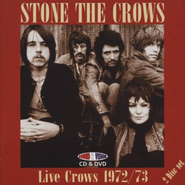 Live Crows 1972 - 73 (2-CD)
