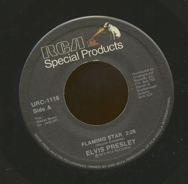 Flaming Star - G.I. Blues (7inch, 45rpm)