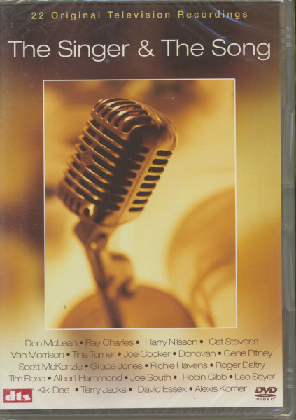 The Singer & The Song - 22 TV Recordings (DVD)