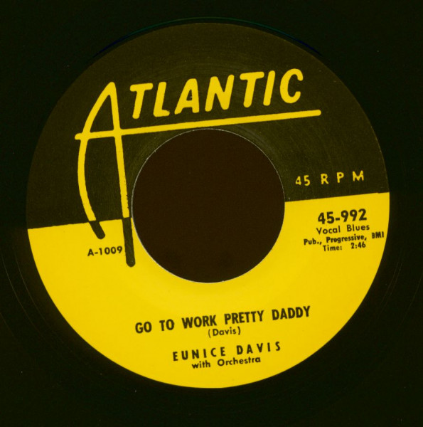 Go To Work Pretty Daddy - My Beat Is 125th St. (7inch, 45rpm)