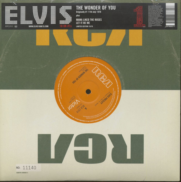 18 UK #1s Vol.16 - The Wonder Of You (10inch, 45rpm, Ltd., Numbered)