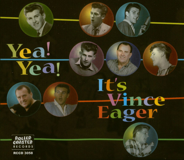 Yeah Yeah - It's Vince Eager (CD)