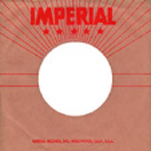 (10) Imperial USA - 45rpm record sleeve - 7inch Single Cover