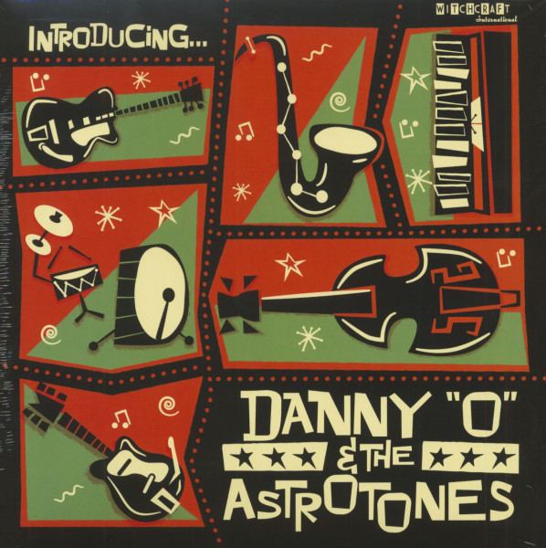 Introducing - Danny 'O' And The Astrotones (LP, 180g Vinyl, Ltd.)