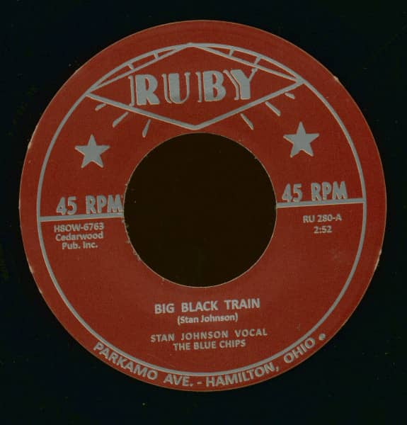 Big Black Train - Six White Horses (7inch, 45rpm)