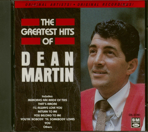 The Greatest Hits Of Dean Martin (CD)